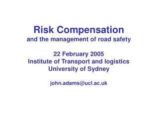 Managing risk:  it's not rocket science