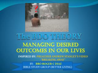 The BDO THEORY