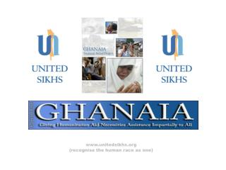 unitedsikhs (recognise the human race as one)