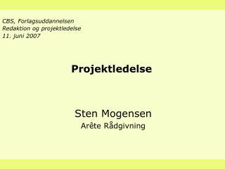 Projektledelse