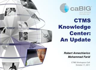 CTMS Knowledge Center:  An Update