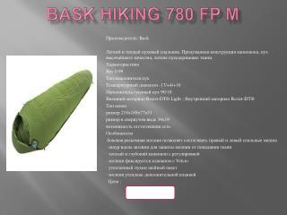 Bask Hiking 780 FP M