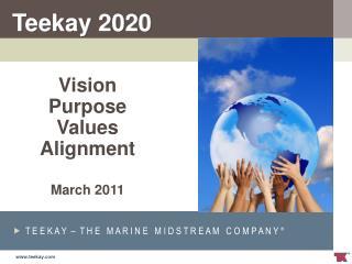Vision  Purpose Values Alignment March 2011