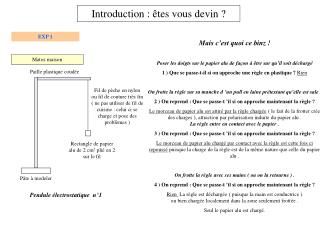 Introduction : �tes vous devin ?