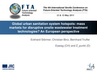 Global urban sanitation system hotspots: mass markets for disruptive onsite wastewater treatment