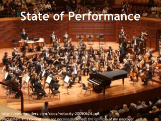State of Performance