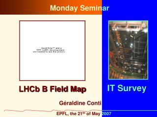 LHCb B Field Map