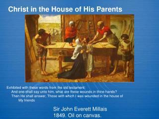 Sir John Everett Millais 1849. Oil on canvas.