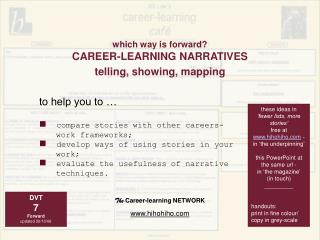 The Career-learning NETWORK hihohiho
