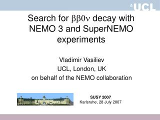 Search for  bb0n  decay with  NEMO 3 and SuperNEMO experiments