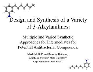Design and Synthesis of a Variety of 3-Alkylanilines: