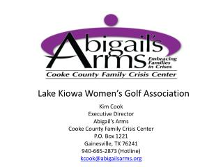Lake Kiowa Women's Golf Association