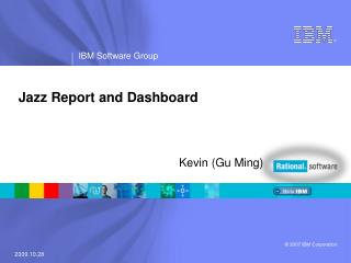 Jazz Report and Dashboard