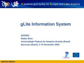 gLite Information System