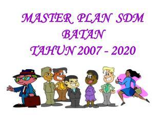 MASTER  PLAN  SDM BATAN TAHUN 2007 - 2020