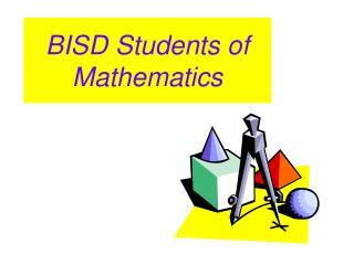 BISD Students of Mathematics