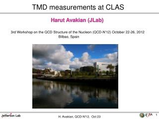 TMD measurements at CLAS