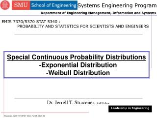 Systems Engineering Program