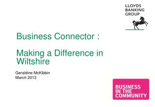 Business Connector :  Making a Difference in Wiltshire