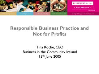 Responsible Business Practice and Not for Profits