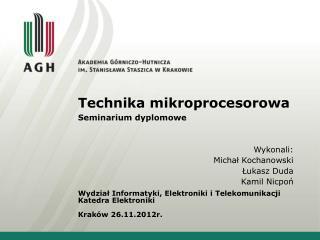 Technika mikroprocesorowa