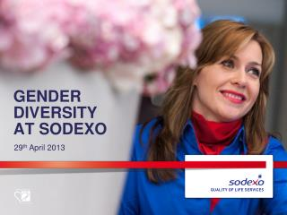 Gender Diversity at  Sodexo