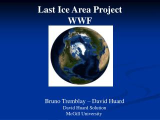 Last Ice Area Project WWF
