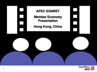 APEC EGNRET  Member Economy Presentation  Hong Kong, China
