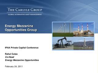 Energy Mezzanine Opportunities Group