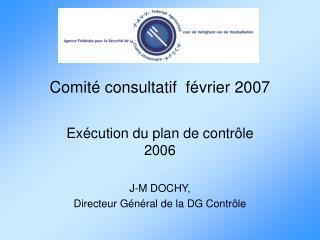Comité consultatif  février 2007