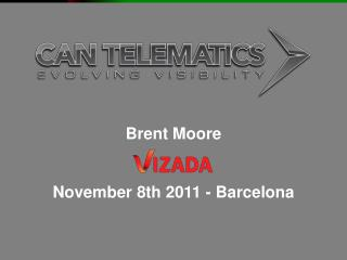 Brent Moore November 8th 2011 - Barcelona