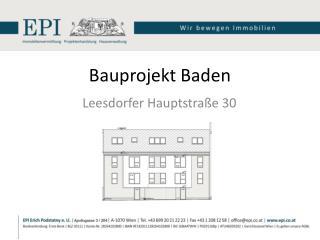 Bauprojekt Baden