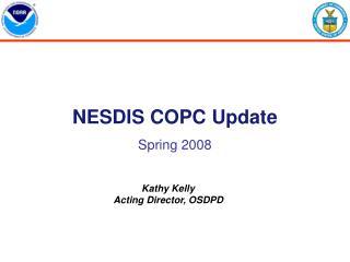 NESDIS COPC Update Spring 2008
