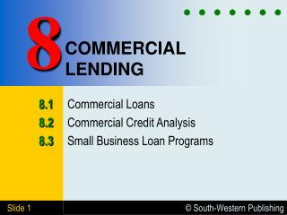 commercial loan analysis The evaluation model of a commercial bank loan portfolio of a commercial bank loan portfolio an analysis of the kinds of loans is performed.