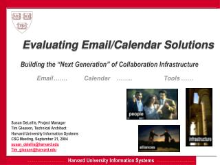 Evaluating Email/Calendar Solutions