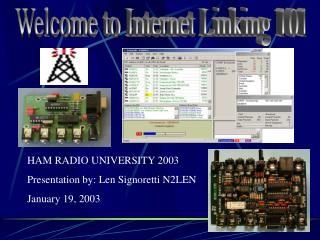 Welcome to Internet Linking 101