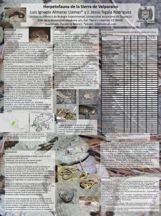 INTRODUCCION El grupo de los reptiles  y anfibios es un grupo  de vertebrados que  son conocidos
