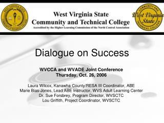 Dialogue on Success