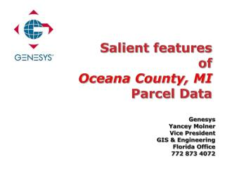 Salient features of Oceana County, MI Parcel Data