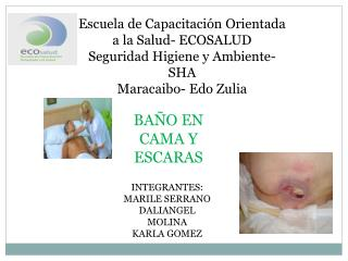 Escuela de Capacitación Orientada a la Salud- ECOSALUD Seguridad Higiene y Ambiente- SHA