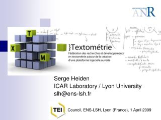 Rencontres TEI Council Lyon 2009