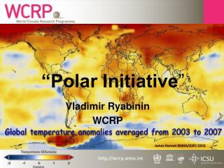 """Polar Initiative """