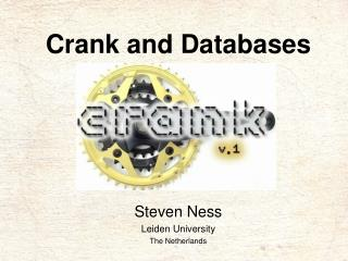 Crank and Databases