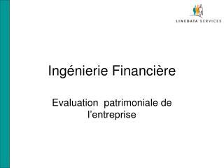 Ingénierie Financière