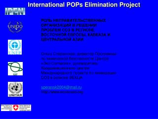International POPs Elimination Project