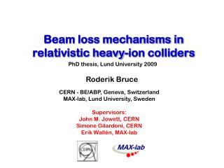 Beam loss mechanisms in relativistic heavy-ion colliders