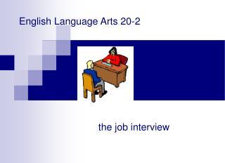 English Language Arts 20-2