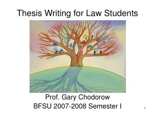 Thesis Writing for Law Students