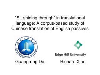 Guangrong Dai            Richard Xiao