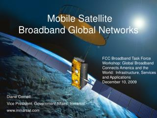Mobile Satellite  Broadband Global Networks